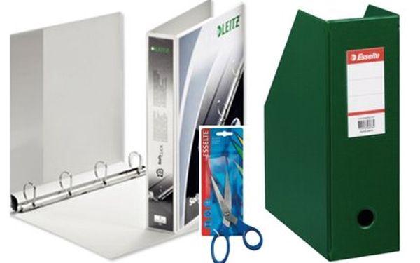 Jen 289 Kč za balíček profesionálních kancelářských potřeb Esselte – celkem 7 druhů užitečných nástrojů do každé domácnosti v hodnotě 932 Kč!