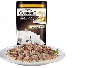 Lahodné kapsičky pro kočky! Kočky přímo zbožňují Gourmet A la Carte!