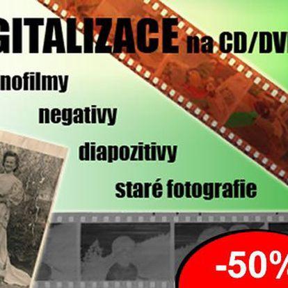 Nechte si převést vaše papírové fotografie do profi-digitální podoby. Prohlížejte si vaše stará alba i v počítači. Podělte se o zážitky s přáteli. Nyní 100 ks fotek se slevou 50% jen 495 Kč. Vypálení na CD ZDARMA.