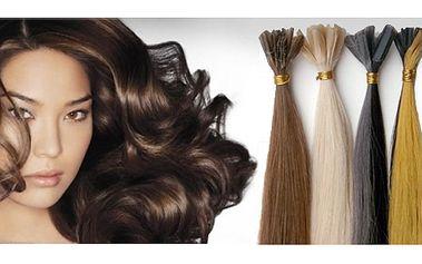 Prodloužení vlasů o 30 cm keratinovou metodou!