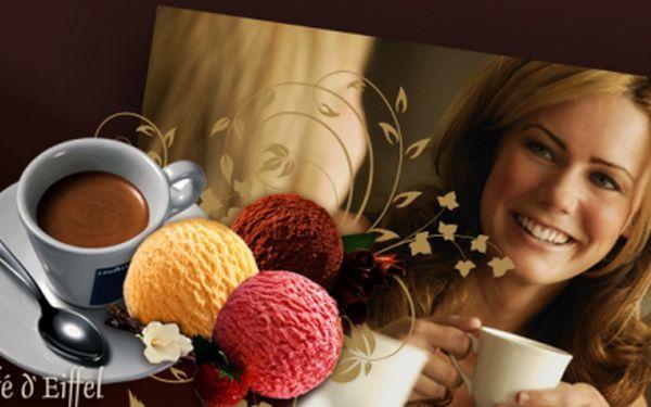 Máte chuť na kávu? Spojte příjemné s užitečným, vemte kamaráda/-ku a zajděte si do Olympie na speciální nabídku: 2x espresso Lavazza a k tomu 3 kopečky zmrzliny jen za 55 Kč!