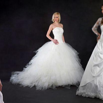 Učiňte Váš velký den ještě výjimečnějším! Vyberte si jakékoliv svatební šaty podle vlastních představ a nechte si je ušít přímo na Vás. To vše za cenu běžného půjčovného!
