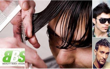 I pánové mohou mít dokonalý účes s jedinečnou 63% slevou! Pánský střih za úžasných 290 kč!! Obsahuje stříhání, šamponovou lázeň, indickou masáž hlavy, sérum dle problematiky klienta (padání, růst, lupy atd)!