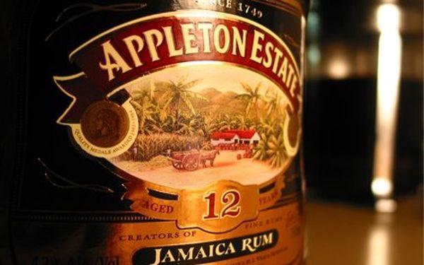 48% sleva na výběrové jamajské rumy Appleton! Vyberte si V/X (mix 5 až 10-ti letých) nebo prémiový 12-ti letý!