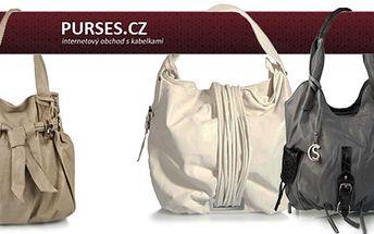 Doplňte svůj outfit o luxusní kabelku. Stačí si jen vybrat! Široký výběr v různobarevných provedeních. Elegantní, sportovní... Precizní provedení a vysoká kvalita!