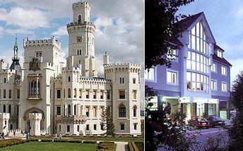 50% sleva na ubytování pro DVĚ osoby v Hotelu Apartment Hluboká! 10 prostorných apartmá s kompletním vybavením, široká možnost výletů po okolí!