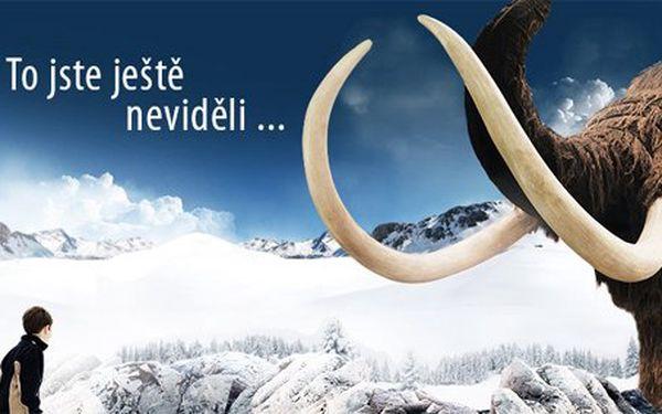 125 Kč za rodinnou vstupenku na unikátní výstavu Giganti – Doba ledová. Obří pravěká zvířata v životní velikosti a skvělá podívaná se slevou 50 %.