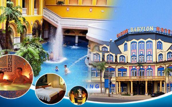 Oddych v luxusnom 4* hoteli pre dvoch, polpenzia a neobmedzený pobyt v AQUAPARKU, LUNAPARKU, iQPARKU a WELLNESS po celú dĺžku pobytu. Len za 82,99 EUR!