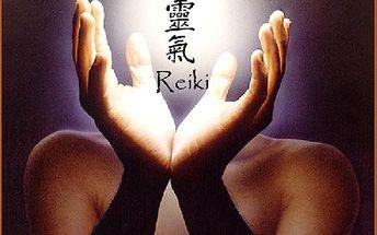 Balíček ENERGICKÝCH masáží - Reiki masáž zad a spodní části nohou, teplý zábal, reiki masáž šíje a obličeje. Vše za exkluzivní cenu 375,-Kč