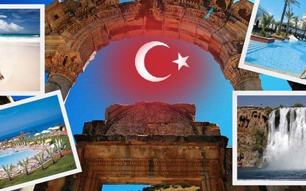 6990 Kč za letecký zájezd do Turecka na 8 dní! Luxusní hotely, polopenze i výlet do Pamukkale se slevou 46 %.