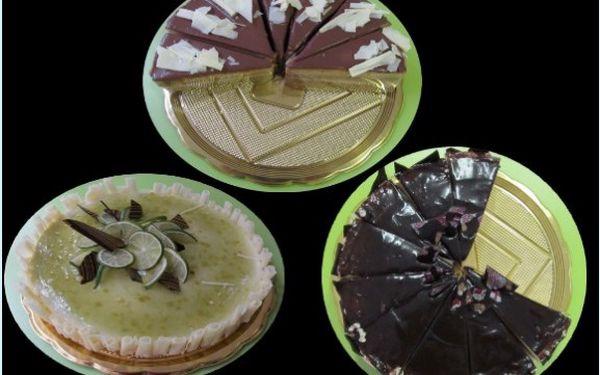 Oslaďte si život kilovým dortem jen za 180Kč! Limetkový, Nugátový, nebo Míša dort. Každý z těchto dortů má své kouzlo, vy máte možnost tu jedinečnou chuť poznat!