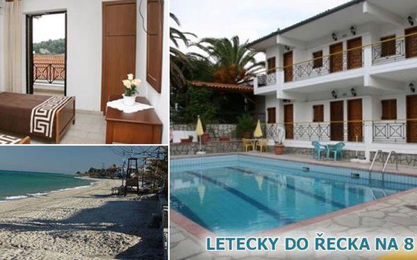 Užijte si exkluzivní dovolenou v ŘECKU na 8 dní letecky do VILY SARIKAS 3*** s bazénem v krásném a prosluněném místě Polichrono v blízkosti Thessaloniki za cenu 7.990 Kč v termínu 19.6.-26.6.2011. Speciální dětská cena 4.490 Kč