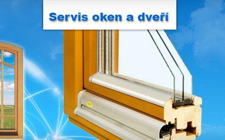 Komplexní servis oken (plastových a eurooken) se skvělou slevou 50 % jen za 350 Kč!! V ceně je i výjezd a doprava technika!! Využijte omezenou jarní slevovou akci a dejte svoje okna do naprostého pořádku!! Ušetřete s portálem Berslevu.cz 350 Kč!!