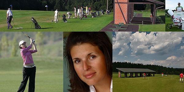 Lekce golfu s profesionální hráčkou Editou Nechanickou - 60% sleva na osobní lekci golfu s profesionální hráčkou Editou Nechanickou – členkou PGA. Pro zkušené i naprosté začátečníky v Mariánských Lázních.