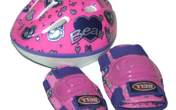 Dětská helma + chrániče