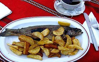 Jen 89 Kč za pstruha na roštu s americkými bramborami a tureckou kávou nebo čajem v restauraci Staré časy. Ryby jsou zdravé, ryby jsou chutné, přijďte si na jedné pochutnat do originální restaurace jen kousek od zimního stadionu v Plzni.