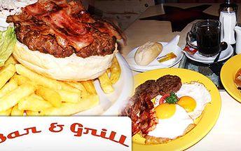 Skvělé 2 burgery a 2 mléčné koktejly se zmrzlinou se slevou 44 % za skvělých 149 Kč nebo bohatá snídaně American Dream pro dvě osoby ve stylu 60. let se slevou 47 % za skvělých 99 Kč!! Navštivte originální Bar & Grill 60!!