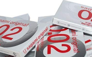 Nabízíme úžasnou slevu na nákup balení 12 luxusních kondomů z polyuretanu!