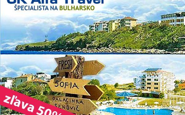 Len 80 € za dovolenku v Bulharsku v Primorsku pre 2 osoby v hodnote 160 € na 9 nocí v penziónoch Vasima alebo Levteri v termíne od 15.06. do 26.06. 2011.