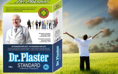 519 Kč za detoxikační kúru namísto 1059 Kč. Zbavte se toxinů a škodlivin v těle díky léčivým náplastem Dr. Plaster s prokazatelnými účinky! Dopřejte si 14 denní jarní očistnou kúru! Poštovné v ceně!