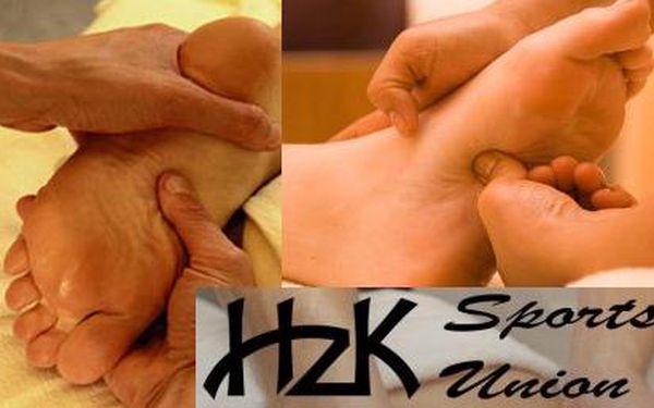Reflexní masáž dolních končetin se slevou 56%! 30-ti minutová masáž slouží k úplnému uvolnění nohou a jejich relaxaci a oživení. Nyní jen 199 Kč z původních 450 Kč!