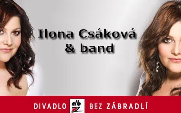 199 Kč za vstupenku na koncert Ilona Csáková & Band v Divadle Bez zábradlí! Kouzla a divy popové divy se slevou 48 %.