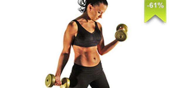 Posilnite svoje telo i ducha vo fitness centre. U nás máte vstup s neuveriteľnou zľavou 61%.