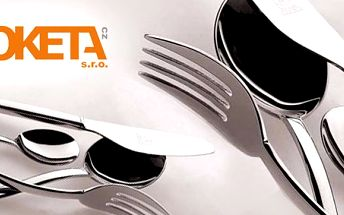 1492 Kč za 24dílný set luxusních italských příborů Mepra pro šest osob. Nože, vidličky, lžíce a kávové lžičky podle špičkových italských designérů se slevou 70 %.