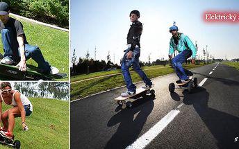 Vyzkoušejte si elektrický skateboard v PRVNÍ půjčovně elektrických skateboardů v ČR. 10 minut jízdy jen za 39 Kč. Užijte si spoustu srandy se slevou 50%.
