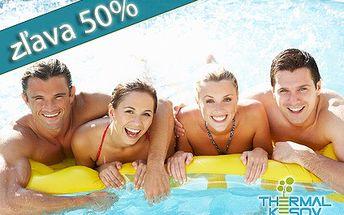 Úžasné 3 dni pre 2 osoby s raňajkami v Hoteli** ThermalKesov iba za 50€! Relax v príjemnom prostredí počas letných prázdnin! Kúpanie v termálnej vode vás nabije novou energiou! CityKupón je platný až do 15. septembra 2011!
