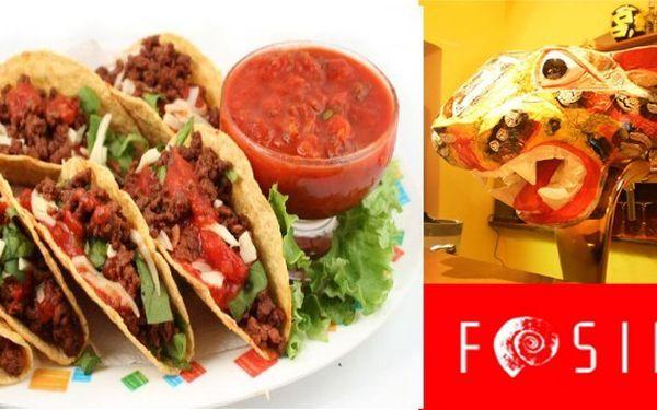 Zažijte pravé Mexiko ! Dvě velké pšeničné tortilly Tacos Panzón pro 1 osobu jen za 95 Kč. Sleva 51%!