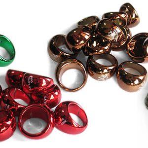 Nakombinuj si léto s báječnými prsteny v letních barvách - SPECIÁLNÍ AKCE, skvělá sleva na sadu 4 prstenů - červená, zelená, zlatá, hnědá + POŠTOVNÉ ZDARMA
