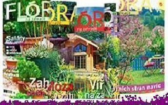 """49% jen 196 Kč za roční předplatné časopisu """"Flóra na zahradě"""", časopis pro všechny, kteří chtějí mít krásnou zahradu"""
