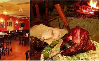 Za pouhých 82 Kč si přijďte společně s Vaším partnerem či kamarádem pochutnat na výborném pečeném koleni zadním s hořčicí, křenem, okurkou a chlebem! Vše získáte ve stylové restauraci Budvarka a to s 50% SLEVOU!