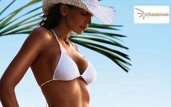 120 minut SOLÁRIA za úžasnou akční cenu 750 Kč! Navíc dostanete solární kosmetiku v hodnotě 150 Kč a presso Illy ZDARMA! Buďte připraveni na letní sezónu a ukažte v plavkách své krásné opálení!
