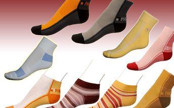 Letní výbava, 4+ 1 páry STREETLINE ponožek již za 299 Kč místo 500 Kč
