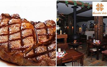 Dopřejte si pořádný flák masa! 400g STEAK Z NAKLÁDANÉ VEPŘOVÉ KRKOVIČKY pro opravdové labužníky a to za pouhých 168 Kč! Výtečný steak získáte ve stylové restauraci Sluneční dvůr!