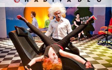 Jen 108 Kč za DIVADELNÍ představení HOLUBI. Přijďte se i Vy podívat do brněnského HaDivadla na brilantní komedií předního německého dramatika současnosti Davida Gieselmannase. Fantastická sleva 46%, kterou jinde neseženete.