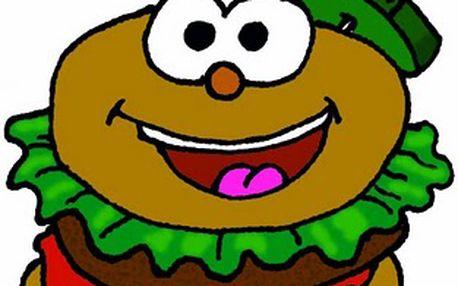 Vychutnejte si pořádný drůbeží hamburger za skvělých 19 Kč v občerstvení Karolína.