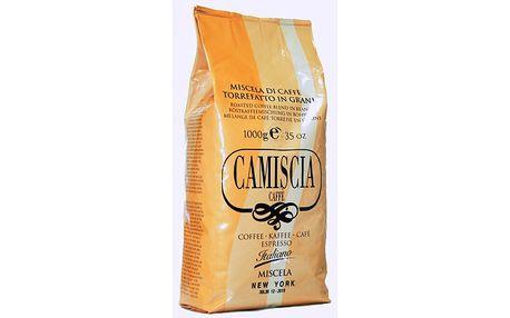 Silná italská káva CAMISCIA New York 1kg