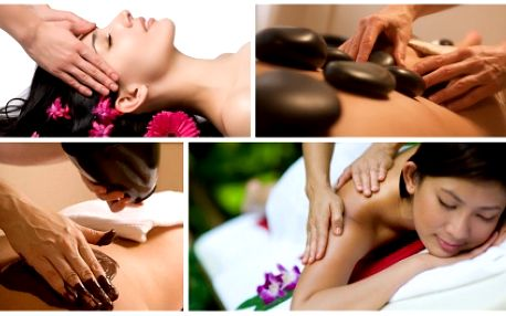 Zajděte si za pouhých 260 Kč na hodinovou masáž dle Vašeho výběru! Dopřejte si aroma masáž, masáž lávovými kameny, lymfatickou manuální masáž nebo proticelulitidovou masáž se skořicovým nebo čokoládovým zábalem!!