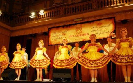 """Zúčastněte se Gala koncertu mezinárodního hudebního festivalu """"Květnová Fantazie"""" v Městské knihovně v Praze! Nenechte si ujít TANEČNÍ A HUDEBNÍ VYSTOUPENÍ DĚTSKÝCH SOUBORŮ z CELÉHO SVĚTA! Získejte vstup pro 2 OSOBY za pouhých 50 Kč na VIP MÍSTECH!!"""