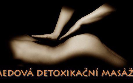 Medová detoxikační masáž, která očistí a stimuluje celý Váš organizmus.