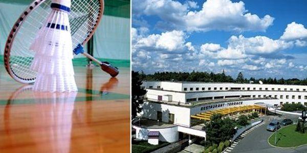 Jen 169 Kč za pronájem krytého badmintonového kurtu na DVĚ hodiny! Přijďte si zahrát oblíbený sport na profesionální dvorce!
