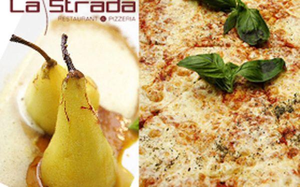 Neuvěřitelných 198,- Kč za VIP konzumační kartu do nevšední restaurace La Strada. S námi se nespálíte! Sleva 55%!!!