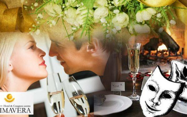 Jedinečná nabídka! Do divadla na představení Poslední šance režiséra Gustava Skály, s 3-chodovou večeří a sklenkou bílého nebo červeného domácího vína za 449 Kč v krásném hotelu Primavera v Plzni! Nepromeškejte!