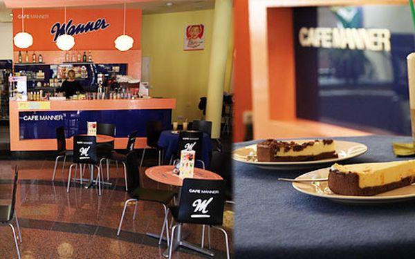 Jen 65 Kč za dvě řecké frappé a dva zákusky dle vašeho výběru ve stylové kavárně Manner v centru Brna!