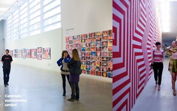 180 Kč za vstupenku PRO DVA do Centra současného umění DOX! Jakákoli probíhající i budoucí výstava během následujícího půlroku se slevou 50 %.