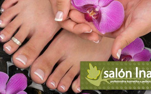 Krásny vzhľad nôh a príjemnú chôdzu získate kombinovanou pedikúrou /suchá i mokrá/ len za 9,60€. Komfortné ošetrenie nôh so zľavou 40%.