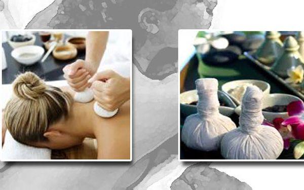 Hodinová relaxační masáž rýžovými měšci. Dopřejte si relaxaci a odpočinek!